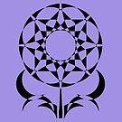 Geometric Flowers by Tabetha Landt