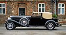 Duesenberg Model J Rollston Victoria Coupe 1936 at Hampton Court by MarcW