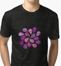 Abstract Water Drops  Tri-blend T-Shirt