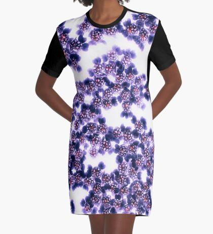 Black Yarrow Graphic T-Shirt Dress