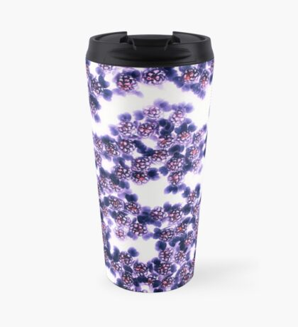 Black Yarrow Travel Mug