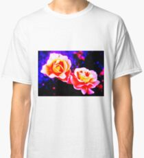 Psychedelic Roses Classic T-Shirt