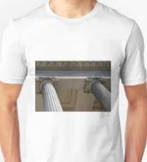 Ionian columns from classical building T-Shirt