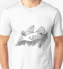 Animal bird cartoon line art Unisex T-Shirt