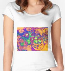 Psychedelic Relic Women's Fitted Scoop T-Shirt