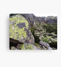 Stone Wall - Travel Photography Canvas Print