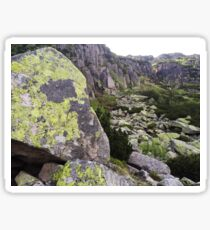 Stone Wall - Travel Photography Sticker