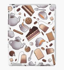 Tea Time Anytime - Withe iPad Case/Skin