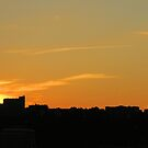 Sunset Over Jersey 3 by joan warburton
