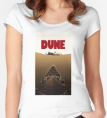 Dune Jaws Women's Fitted Scoop T-Shirt