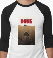 Dune Jaws Men's Baseball ¾ T-Shirt