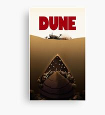 Dune Jaws Canvas Print