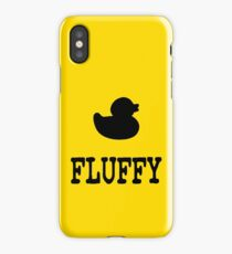 Fluffy Duck iPhone Case