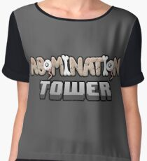 Abomination Tower Logo Chiffon Top