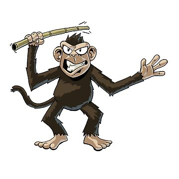 Angry Monkey by suggo