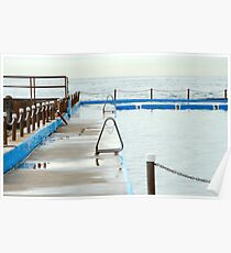 Swimming Lanes Poster