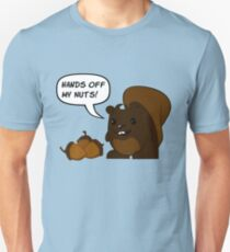 Hands Off My Nuts! Unisex T-Shirt