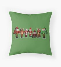 Merry Xmas from MINE Throw Pillow