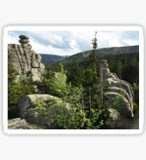 Rocky Throne - Nature Photography Sticker