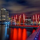 Grand Canal Dock by Adrian McGlynn