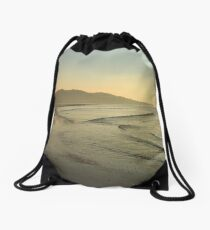 Lisfannon Beach Sunset Drawstring Bag