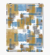 Grunge rectangle pattern iPad Case/Skin