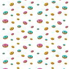 Girly doughnut pattern by TheMaker
