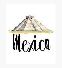 Mexico Photographic Print