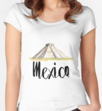 Mexico Women's Fitted Scoop T-Shirt