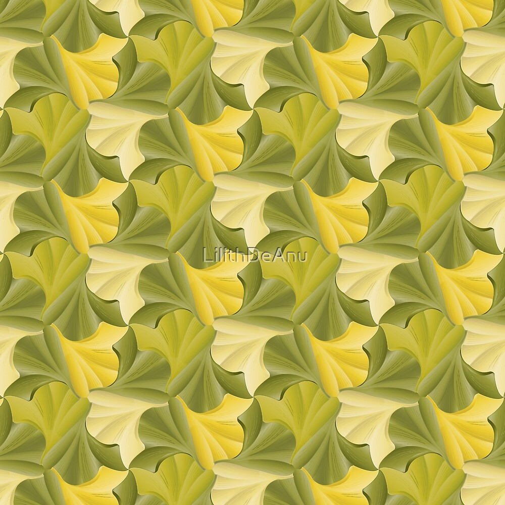 Ginkgo Leaf Tessellation\