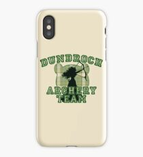 DunBroch Archery Team iPhone Case/Skin