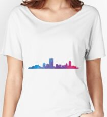 Boston skyline  Women's Relaxed Fit T-Shirt