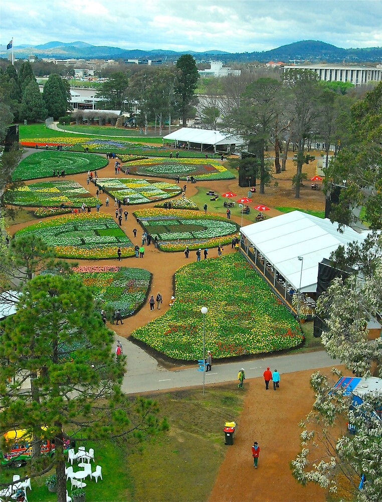 Floriade From Above 2013 by Penny Smith