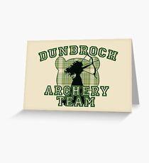 DunBroch Archery Team Greeting Card