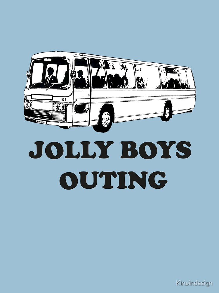 All aboard - Jolly Boys Outing! by Kirwindesign