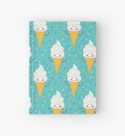 Ice Cream Party Hardcover Journal