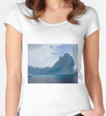 Antarctic Iceberg  Women's Fitted Scoop T-Shirt