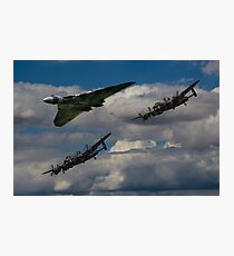 Avro 3Sisters Photographic Print