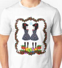 Lolita Whovian twins do Christmas T-Shirt