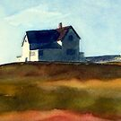 up to lighthouse hill by Claudia Dingle