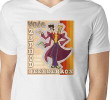 Vote Zaphod Beeblebrox Mens V-Neck T-Shirt