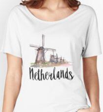 Netherlands Women's Relaxed Fit T-Shirt