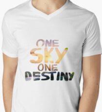 One Sky, One Destiny, Handwritten   T-Shirt
