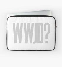 WWJD ? Laptop Sleeve