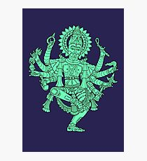 Robotic Shiva Photographic Print