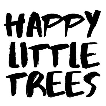 Bob Ross Happy Little Tree by whimsicalmuse