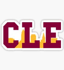 CLE - Skyline (Cavs) Sticker