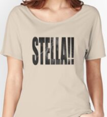 STELLA!!! Women's Relaxed Fit T-Shirt