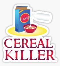 Cereal Killer - Funny Humor Halloween  Sticker