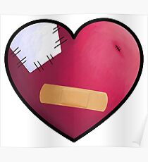 Band Aid Heart  Poster